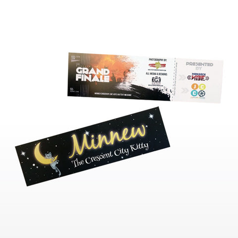 2x7 Bookmarks & Tickets