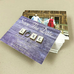 5x7 Save the date card