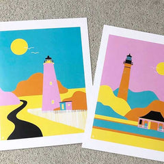 Art prints with borders