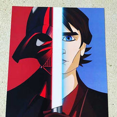 8x10  Star Wars fan art print