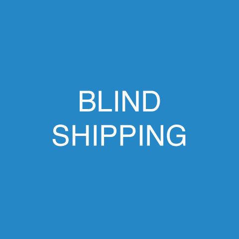 Blind Shipping For Printing