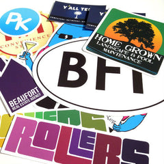 Wide range of stickers and decals
