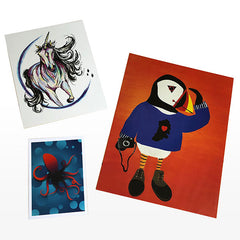 print bundle includes three different sizes