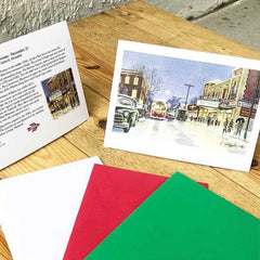 Custom holiday cards for business
