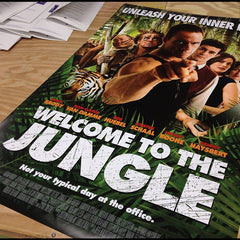 Movie Poster Printing (Welcome to the Jungle)