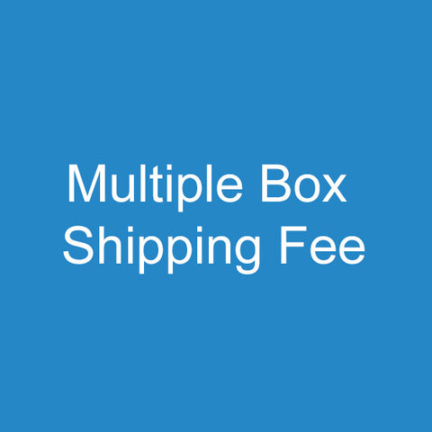 Multiple Boxes Shipping Fee