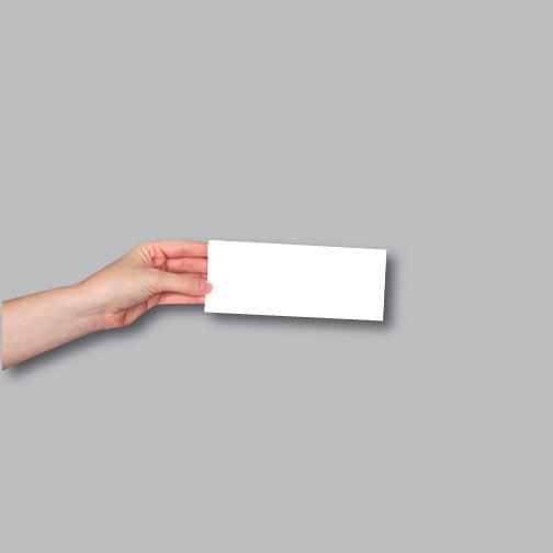 Example of a rectangle sized sticker
