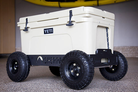 Sherpa Wheels Carts For Coolers