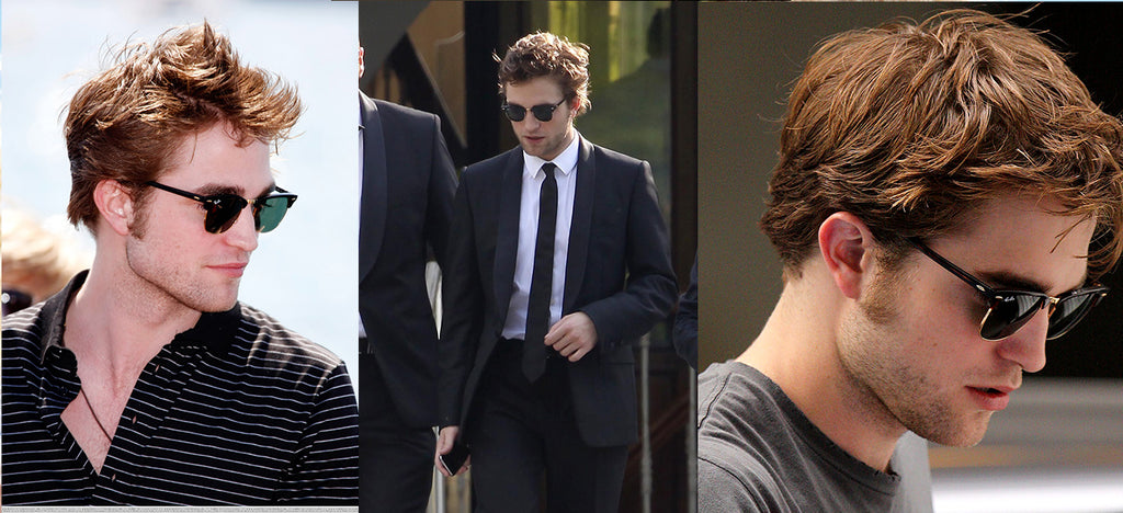 Robert pattinson usa clubmaster - óculos store 1