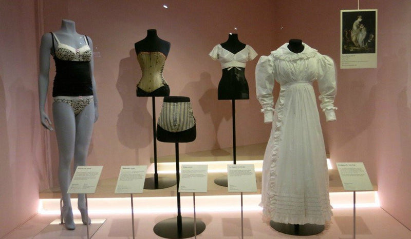Hotmilk features at V & A's Undressed exhibition