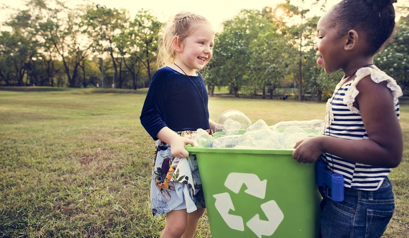 Raising environmentally friendly kids - tips for life at home