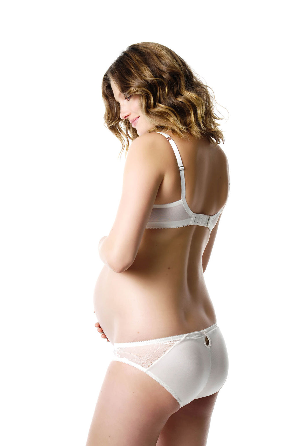 First Light Nursing Bra and Bikini Brief