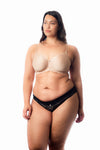 HOTMILK OBSESSION NUDE CONTOUR FLEXIWIRE PREGNANCY NURSING BRA