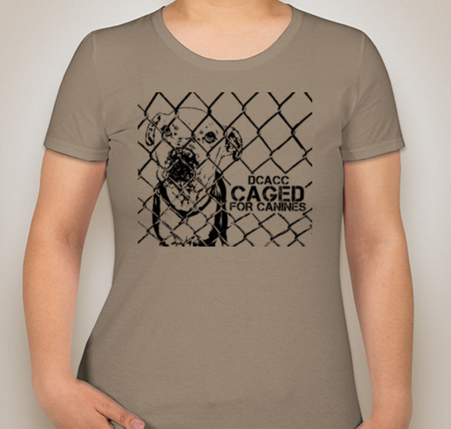 DCACC Caged For Canines T-Shirt