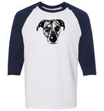 Unisex Three-Quarter Raglan Sleeve T-Shirt