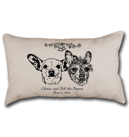 #LiveLikeRoo - Cheese & Bill Commemorative Pillow