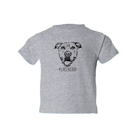 #LiveLikeRoo - Toddler Short Sleeve T-Shirt