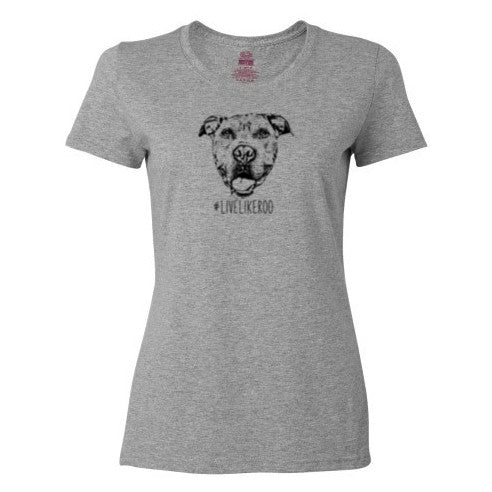 #LiveLikeRoo - Women's Scoop Neck T-Shirt