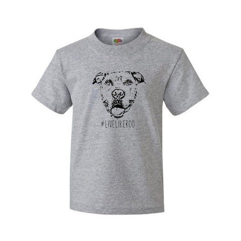 #LiveLikeRoo - Youth Short Sleeve T-Shirt