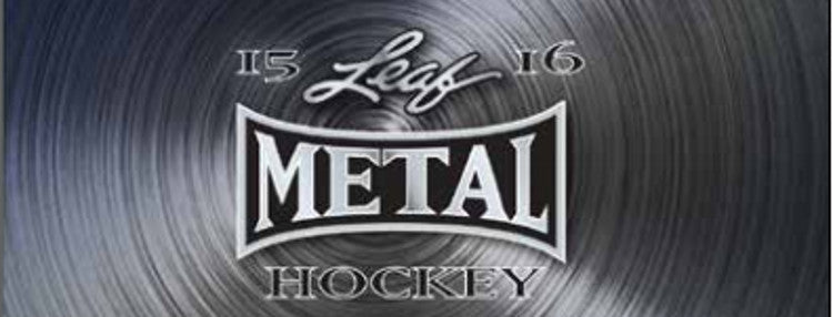 2015-16 Leaf Metal Hockey - Personal Box