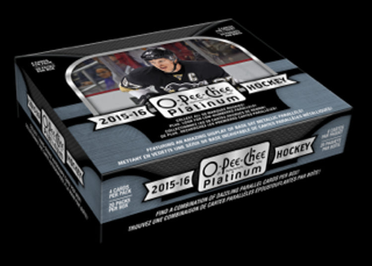 2015/16 Upper Deck O-Pee-Chee Platinum Hockey - Personal Box