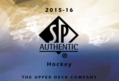 2015/16 Upper Deck SP Authentic Hockey - Personal Box