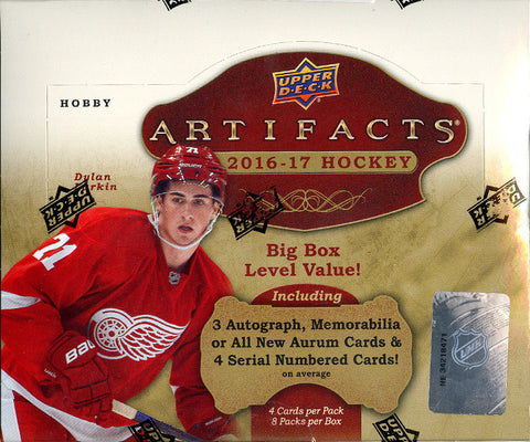 2016/17 Upper Deck Artifacts Hockey - Personal Box