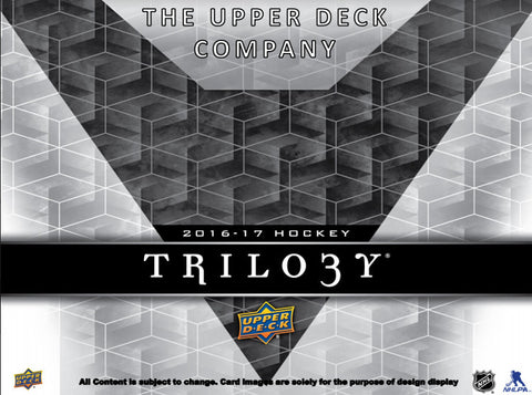 2016/17 Upper Deck Trilogy Hockey - Personal Box