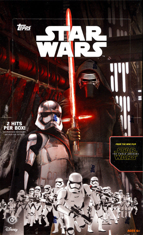 2015 Topps Star Wars The Force Awakens - Personal Box