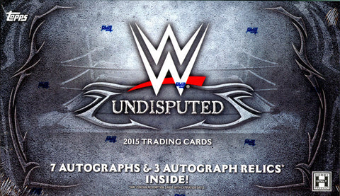 2015 WWE Undisputed Wrestling - 1 Personal Box