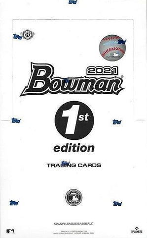 2021 Bowman Baseball 1st Edition *2 Box* Random Teams #10