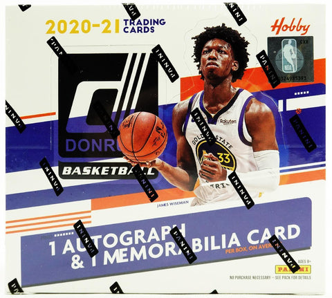 2020-21 Panini Donruss Basketball Hobby 2 Box Random Teams #16 - From A Fresh Case