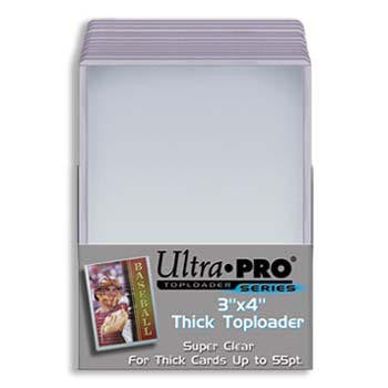 Ultra Pro 3x4 Thick Topload 55pt Card Holder - 25ct Pack