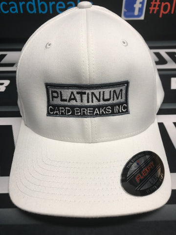 Platinum Flex Fit Hat - White