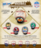 2019 Piece of the Game Authenticated Masterpieces Baseball Single Ball Random Player Break #6