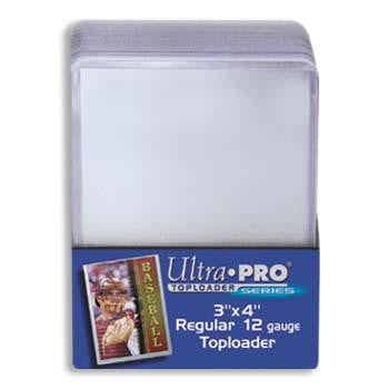 Ultra Pro 3x4 Regular Topload Card Holder - 25ct Pack