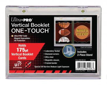 Ultra Pro Vertical Booklet 175pt Magnetic Card Holder w/Stand