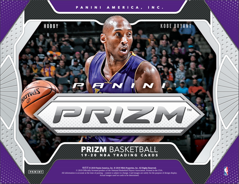 2019-20 Panini Prizm Basketball Hobby 12 Box Case Pick Your Team #11