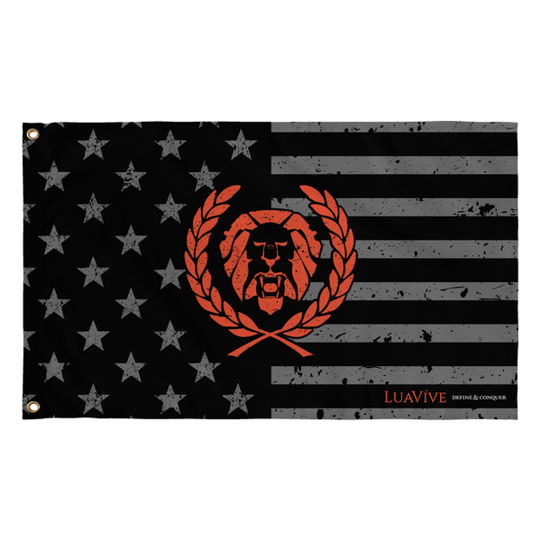 Lionhearted American Flag