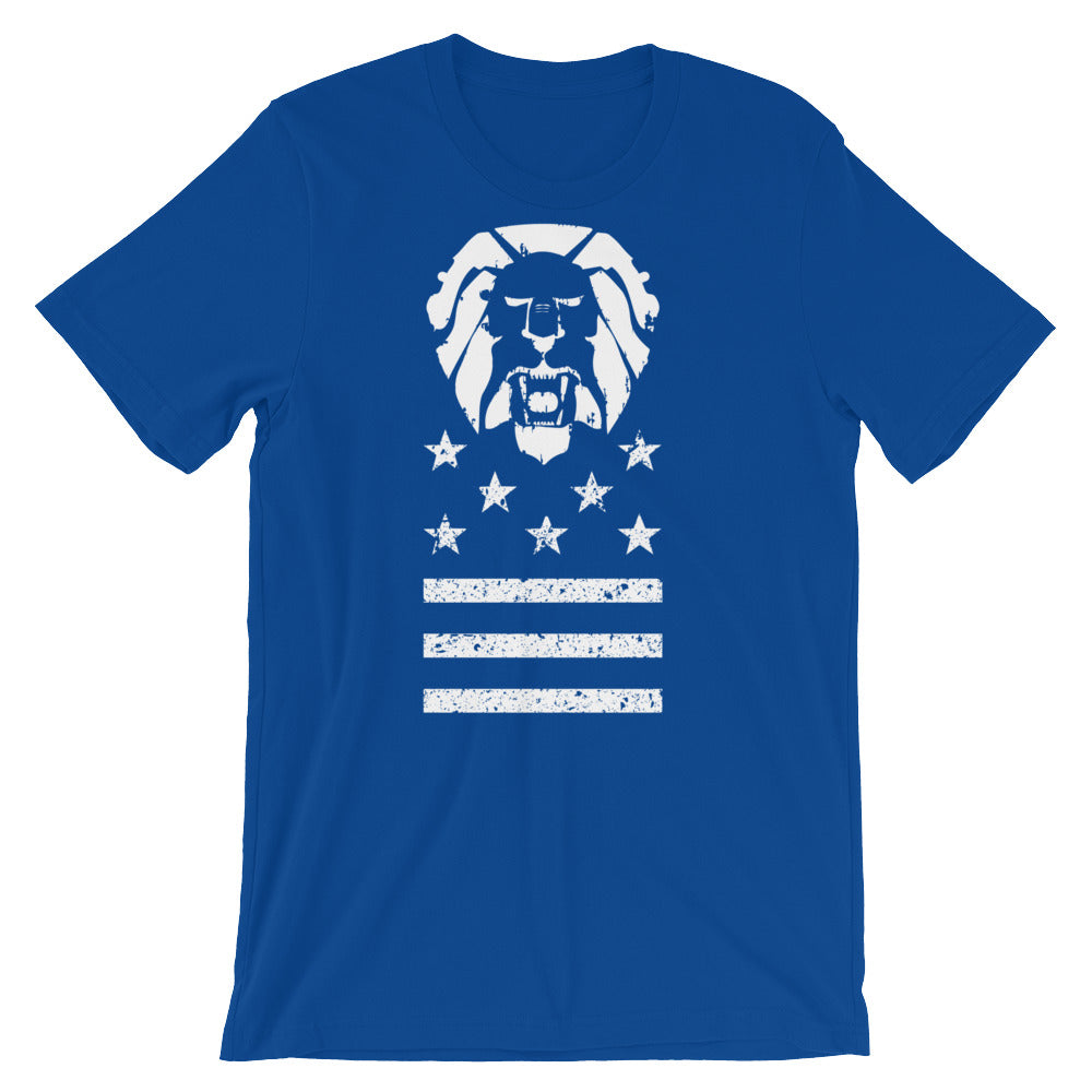 The LionHearted American Unisex T-Shirt