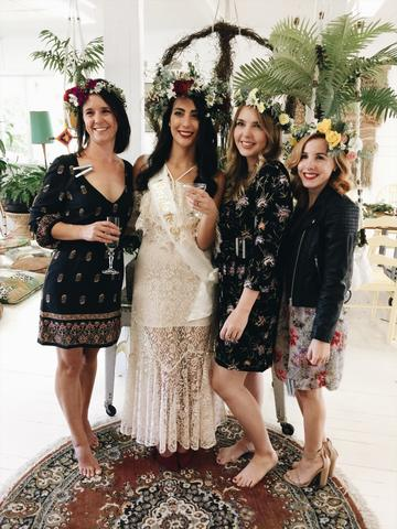 Classy Hen's Party ideas! Craft up a storm with your Bride Tribe at The Craft Parlour