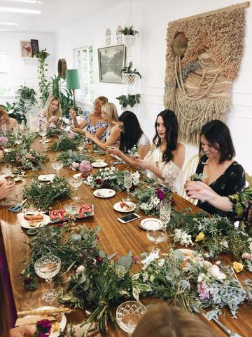 Bridal Shower with a difference at The Craft Parlour Palm Beach