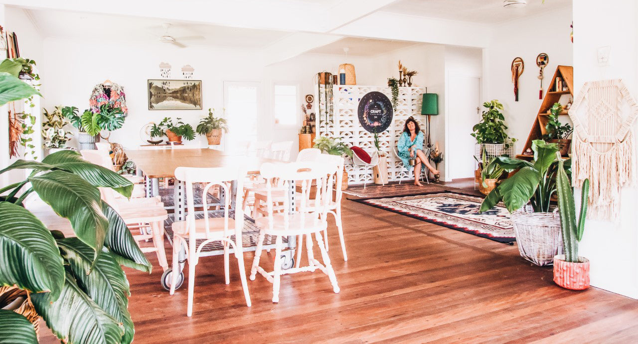 The Craft Parlour bright beautiful and crafty space for hire