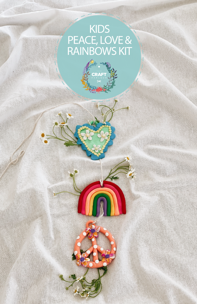 KIDS PEACE, LOVE & RAINBOWS KIT