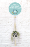 MAPLE MACRAME PLANT HANGER KIT