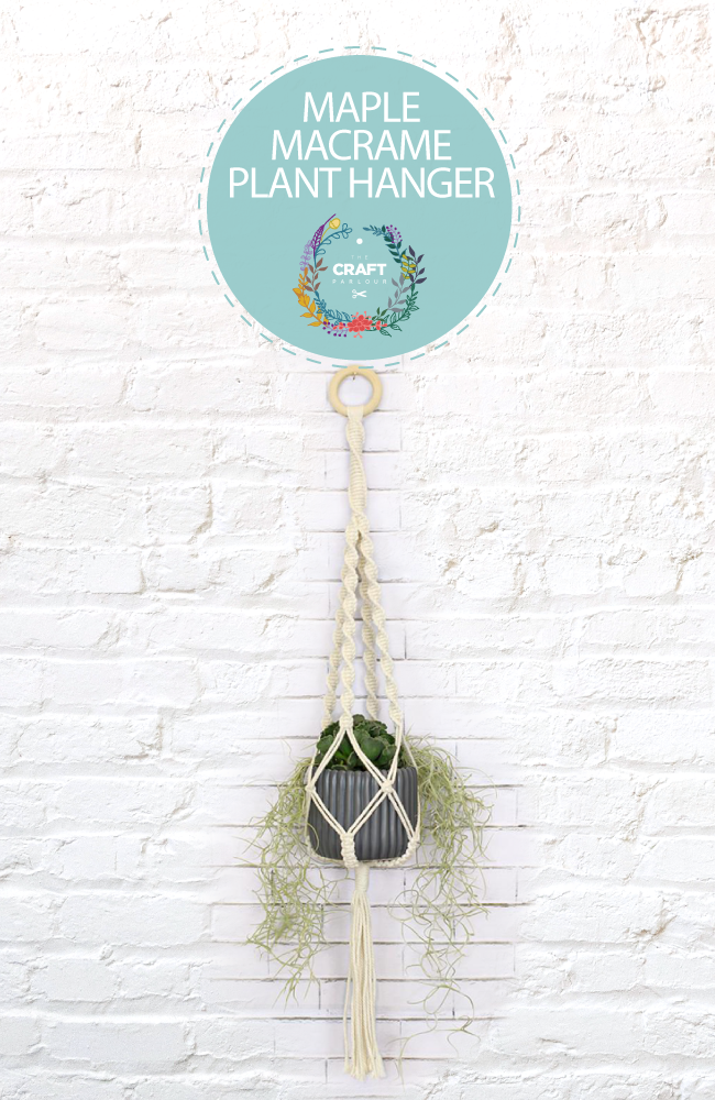 MAPLE - MACRAME PLANT HANGER KIT