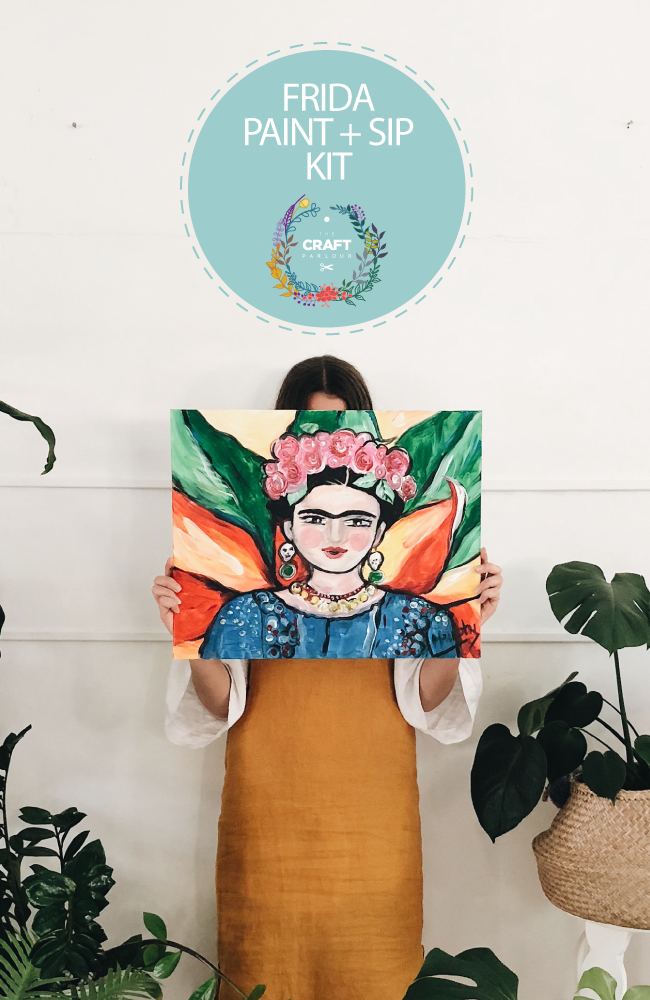 FRIDA PAINT AND SIP KIT