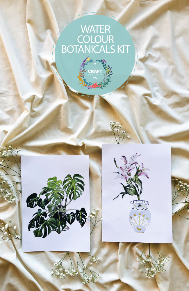 BOTANICAL WATERCOLOUR KIT