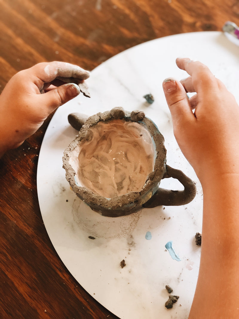 KIDS POTTERY KIT