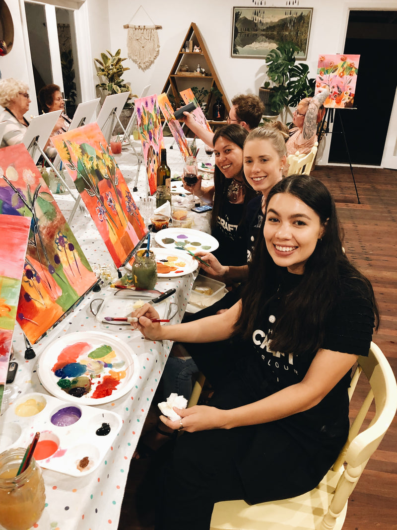 19TH MARCH - PAINT &  SIP